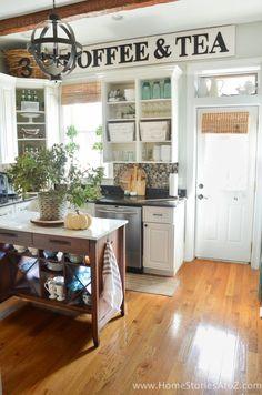 DIY Home Decor: Fall Home Tour - Home Stories A to Z