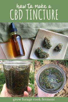 Cannabis is now legal in many places and is great to use for medicinal purposes. Learn how to make a homemade cannabis CBD tincture for all of your aches and pains! Herbal Remedies, Natural Remedies, Health Remedies, Natural Treatments, Herbal Tinctures, Herbalism, Natural Medicine, Herbal Medicine, Essential Oils