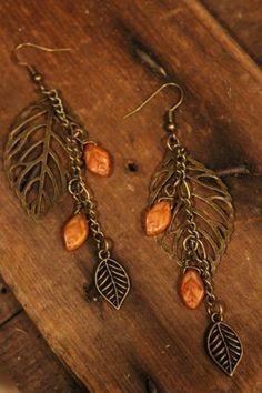 Home :: Jewelry :: Farm Girl Designs :: Earrings :: Farm Girls Falling Stones Earrings