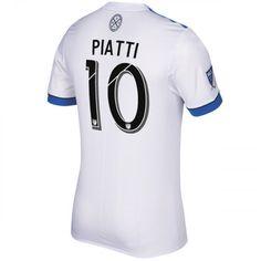 89f533455 Montreal Impact Ignacio Piatti  8 White 2017 Secondary SOCCER MLS Montreal
