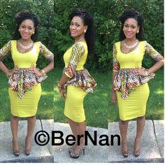 Bernan clothing ~African fashion, Ankara, kitenge, African women dresses, African prints, African men's fashion, Nigerian style, Ghanaian fashion ~DKK