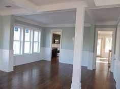 Sherwin Williams sea salt - Teske Goldsworthy Teske Goldsworthy Wittwer this is the color I told you about! Sherwin Williams Sea Salt, Interior Paint Colors For Living Room, Paint Colors For Home, Wall Colors, House Colors, Sea Salt Paint, Comfort Gray, My Living Room, Living Area