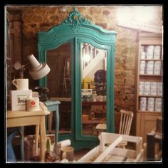 French Armoire in Florence. Gorgeous. The end.