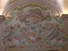 Ceiling in the Palazzo Pianetti in the Italian town of Jesi