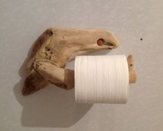 Driftwood toilet roll holder, Art. Sculpture, Nautical, Marine, Crafts