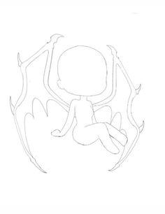 Kawaii Drawings, Cartoon Drawings, Cute Drawings, Chibi Sketch, Anime Sketch, Anime Drawing Styles, Drawing Sketches, Chibi Body, Drawing Body Poses
