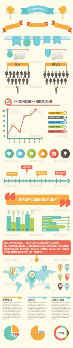 Infographic Elements 1 - Infographics