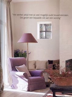 belgian interior designer Ingrid of Porte Bonheur   Follow to site to see other rooms.  love her use of color