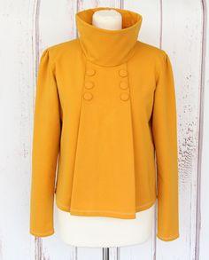 E-Book Charlene Pulli Pullover Gr. Cherry Picking, Sewing Shirts, Sketch Inspiration, Hoodies, Sweatshirts, Refashion, Sewing Patterns, Raincoat, Turtle Neck