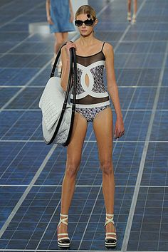 Chanel Spring Summer 2013 swimsuit