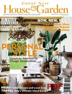 Conde Nast House U0026 Garden February 2016 Issue  Signature Interiors By  Design Trendsetters