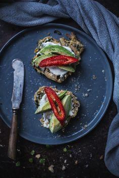 Sweet Potato, Kale, Spinach & Feta Buns