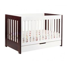 Mercer Convertible Wood Crib - cribs & beds - furniture