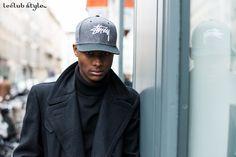 Menswear Street Style by Ángel Robles. Portrait on the street, Rue des Beaux Arts, Paris.