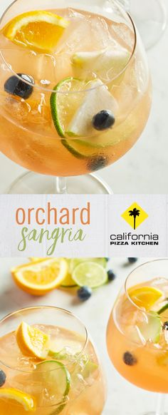 Orchard Sangria at California Pizza Kitchen   Beer, Ale & Cocktails ...
