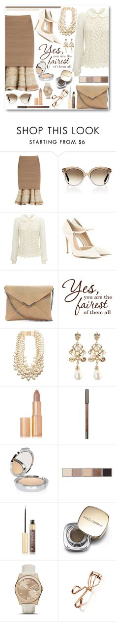 """""""Yes, you are the fairest of them all!"""" by brendariley-1 ❤ liked on Polyvore featuring Donna Karan, Tom Ford, Gianvito Rossi, Twist & Tango, Kate Spade, Charlotte Tilbury, Clarins, Chantecaille, Bobbi Brown Cosmetics and Yves Saint Laurent"""