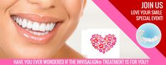 Love the Smile Invisalign Promotion Love Your Smile, Coconut Grove, Reasons To Smile, Cosmetic Dentistry, Promotion