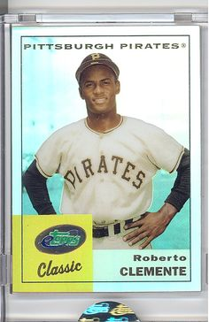 ROBERTO CLEMENTE PITTSBURGH PIRATES CARD!