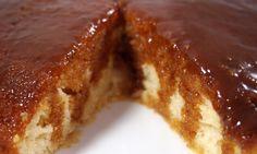 Upside-Down Salted Caramel Cake - Sisterbakers.com