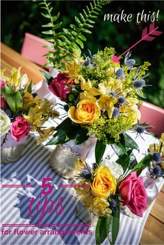 Easy Flower Arrangement | HGTV Design Blog – Design Happens