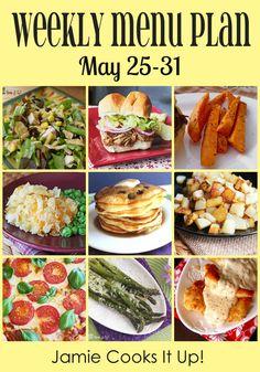 Weekly Menu Plan: May 25-31