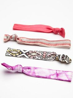 Elastic Printed Hair Ties
