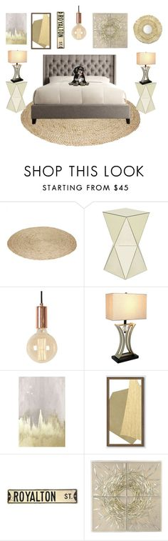 """""""Love is all you need"""" by sarah-michelle-steed ❤ liked on Polyvore featuring Oliver Gal Artist Co., West Elm, Palecek and WALL"""