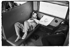 Photos of Chinese People on Trains, c.1970s