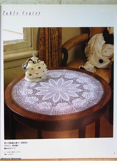 obrus | Kraina wzorów szydełkowych...Land crochet patterns..