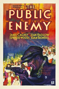 The Public Enemy, 1931 . . .  starring the amazing James Cagney