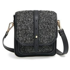 Big Buddha Crossbody Bag (€41) ❤ liked on Polyvore featuring bags, handbags, shoulder bags, shoulder strap bag, mini handbags, mini crossbody, studded handbags and crossbody purse