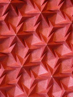 Rhombus Waterbomb Tess  origami piece