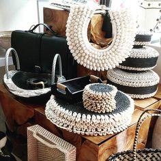 Balinese shell & rattan decorations from Toko Emporium Bali Decor, Bohemian Decor, Boho, African Interior, African Home Decor, Bali Bedroom, Bali Shopping, Tribal Theme, Estilo Tropical