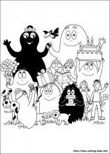 Barbapapa coloring pages on Coloring-Book.info