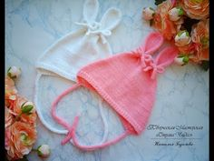 Baby Hats Knitting, Knitting For Kids, Baby Knitting Patterns, Knitted Hats, All Free Crochet, Crochet For Kids, Crochet Baby, Knit Crochet, Knit Baby Dress