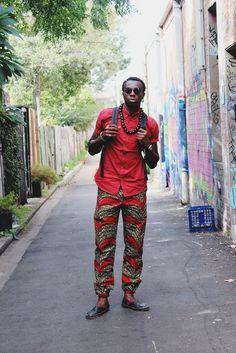 Razak (Australia) african street fashion