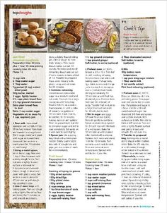 Clipped from Better Homes and Gardens using Netpage. Better Homes And Gardens, Cake Recipes, Food Ideas, Home And Garden, Cakes, Cooking, How To Make, Top, Kitchen