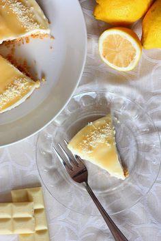 Helppo sitruunajuustokakku (ilman liivatetta) - Suklaapossu Cheesecake, Dairy, Baking, Food, Cheesecakes, Bakken, Essen, Meals, Backen