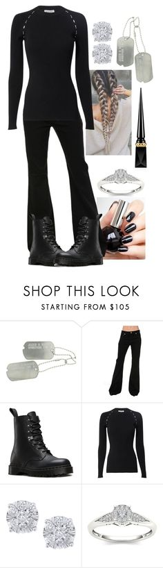 """""""Untitled #2195"""" by forever-ur-sickest-hoe ❤ liked on Polyvore featuring Michael Kors, Dr. Martens, Thierry Mugler, Effy Jewelry, Modern Bride and Christian Louboutin"""