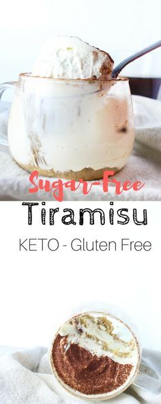 This Keto Tiramisu recipe is one of my favourites, it's low on carbs, high in fats and has a perfect balance of flavours. Thank you Brian! I love Tiramisu. Low Carb Deserts, Low Carb Sweets, Healthy Sweets, Healthy Snacks, Keto Dessert Easy, Sugar Free Desserts, Keto Desserts, Plated Desserts, Ketogenic Recipes