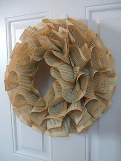 Love this wreath. Just add some red berries and it would be beautiful for Christmas.