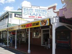 Hog's Breath Cafe Cairns: 64 Spence Street, Cairns QLD 4870 PH: (07) 4031 7711