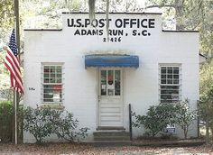 When you've reached Adams Run Post Office you know you're getting close to Edisto Beach, SC.