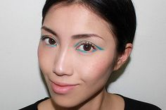 Colorful Graphic Eyeliner Is The Way To Take Your Look To New Levels