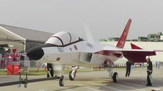 """Tokyo, Mitsubishi aircraft division is actively preparing for the first flight of the demonstrator of the future Japanese fighter ATD-X. The first should in all likelihood take place next February.  12 months late:  Initially, the timetable for the demonstrator aircraft Japanese fighting fifth generation stealth ATD-X """"Shinshin"""" included a maiden flight in March 2015. But software problems had forced the manufacturer to have to see this first flight at a later date."""