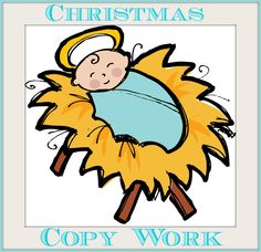 The Christmas Story - copywork and notebooking pages