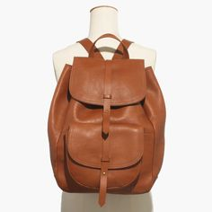 Madewell The Transport Rucksack in Brown (english saddle) | Lyst