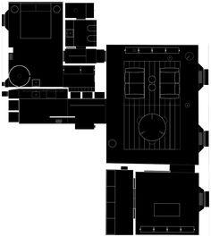 Antonino Cardillo architect - House of Dust - pianta