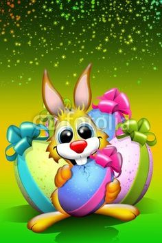 #Cute #Easter #Bunny on #Fotolia! #Designs and #illustrations for Easter :)  http://bluedarkart.wordpress.com/2014/02/19/cute-easter-bunny-on-fotolia/