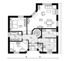 Winkelbungalow Fertighaus Bungalow Massivhaus Hausbau Borken Südlohn Dorsten Haltern Coesfeld Emmerich Kleve
